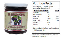 NORTHWEST BERRY GROWERS SEEDLESS LOGANBERRY - 12 oz.jar
