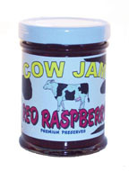 Cow Jam Red Raspberry Preserve Mini Jar