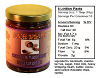 CHOCOLATE MARIONBERRY HAZELNUT BUTTER SPREAD