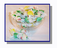 *Schooner Pete's Salt Water Taffy Christmas Mix - 5 lbs