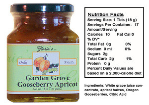 Goose-Berry Apricot Specialty Fruit Spreads