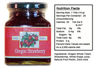 Oregon Strawberry Jam by Gloria's Gourmet (12 oz jar )