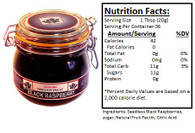 Genuine Oregon Seedless Black Raspberry - 25oz Granny Jar