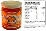 Genuine Oregon Country Peach - 12oz Jar