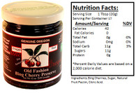 Genuine Oregon Bing Cherry - 12oz Jar