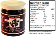 Genuine Oregon Seedless Black Raspberry - 12oz Jar