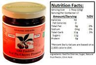 Genuine Oregon Red Pie Cherry - 12oz Jar