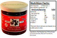 Genuine Oregon Seedless Red Raspberry Fruit Sweet - 10oz Jar