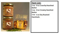 Hazelnut Gift Pack - All Natural - No White Sugar