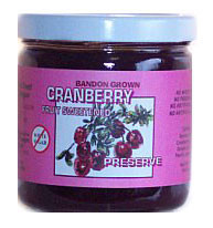 CRANBERRY FRUIT SWEET PRESERVE