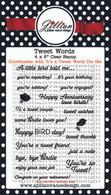 Tweet Words Stamp Set