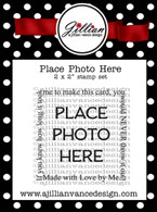 Place Photo Here 2 x 2 Stamp Set