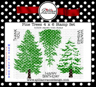 Pine Trees Stamp Set