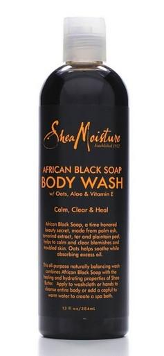 shea moisture body wash men