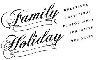 "Holiday (3 3/4"" x 1 1/2"")"