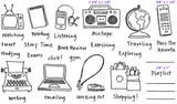 "Full Set (8 1/4"" x 4 3/4"")  Radio (1 3/4"" x 1 1/8"") Remote Control (5/8"" x 1 1/2"")"