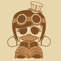 Steampunk Lady - Men/Women Tee