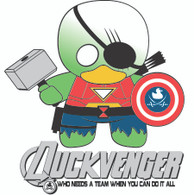 DuckVenger - Men/Women Tee - Retiring