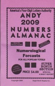 2009 Andy Numbers Almanac