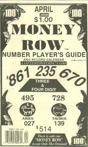 Money Row - The Dream Book Outlet
