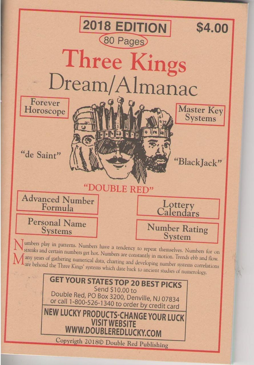 2018 Three Kings Dream Book Almanac - The Dream Book Outlet
