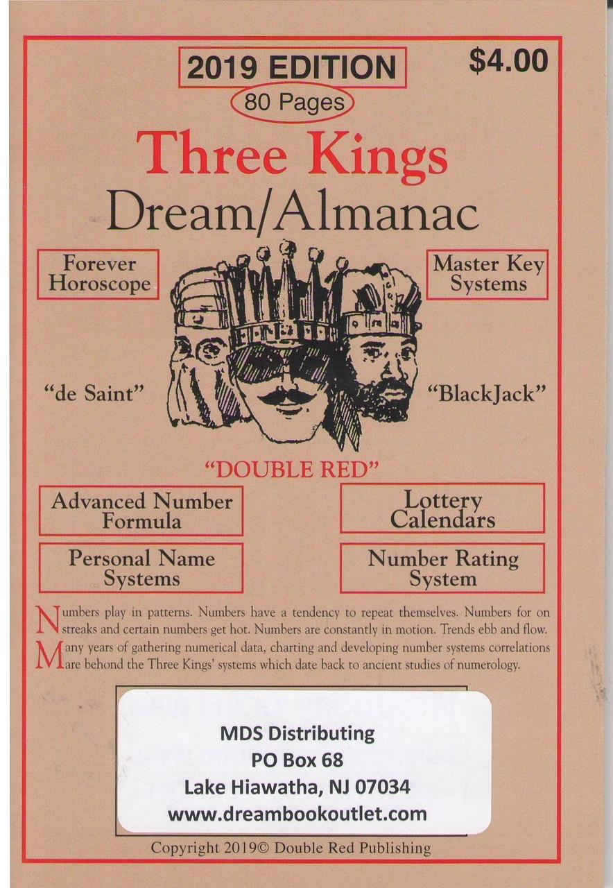 2019 Three Kings Dream Book Almanac - The Dream Book Outlet