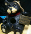 "7.25"" H Northwood Bear Birdhouse"
