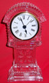 "24% Crystal Clock, 7.75"" High"