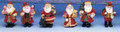 "3"" High Santa Nostalgia Assortment"