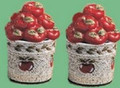 Country Apple Salt and Pepper Shaker Set