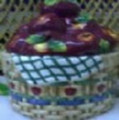 Apples in Basket Cookie Jar