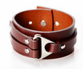 """Homen"" Leather Wrist Cuff"