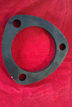 "3 PIN 10mm THICK 3"" HOLE (76mm) MILD STEEL EXHAUST FLANGE"