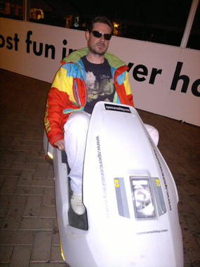 event hire sinclair c5's