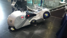 cybercycle hydrogen fuel cell road legal motorcycle