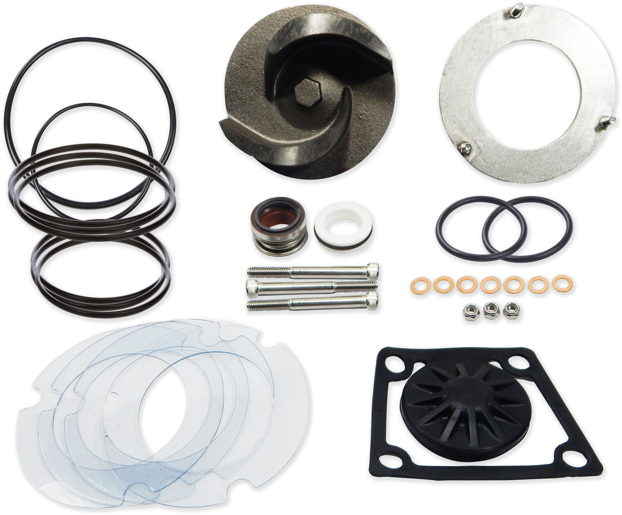 Wacker PT3 Trash Pump Rebuild Kit