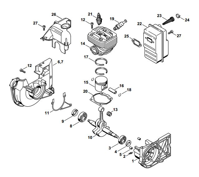 nikasil cylinder overhaul kit