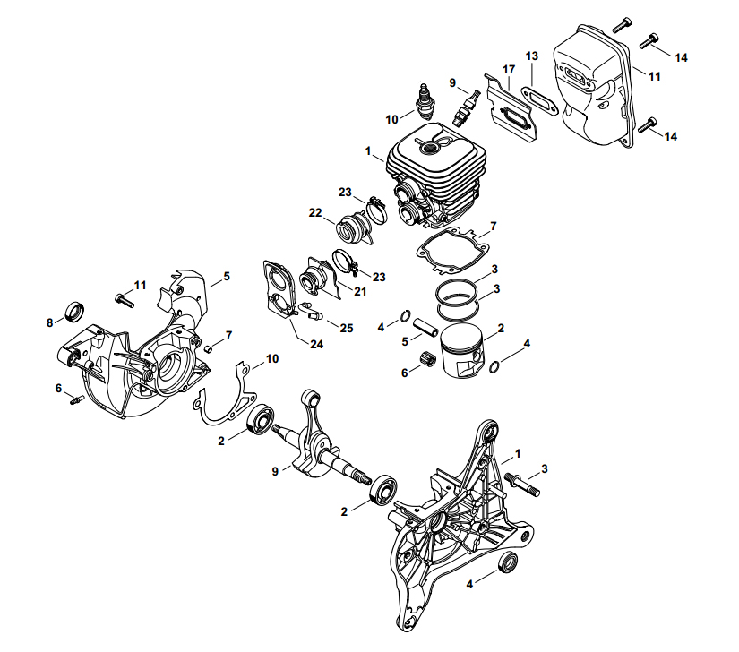 Stihl Engine Diagram