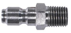 "Pressure Washer 1/4"" Stainless Steel Plug - MNPT 