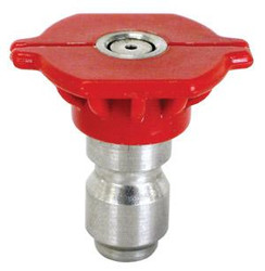 Red Pressure Washer Tip | 0° Degree - Size .40 | 85.201.040