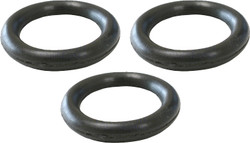 "Pressure Washer Spray Tip 1/4"" O-Ring - 3 Pack 