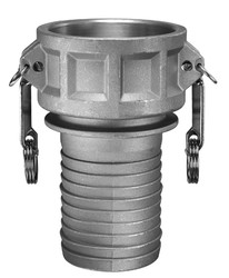 "4"" Female Coupling / Hose Shank 