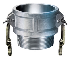 "4"" Female Coupling x Male NPT Coupling 