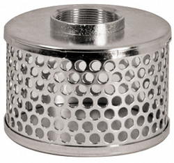 "4"" Round Hole Pump Strainer 