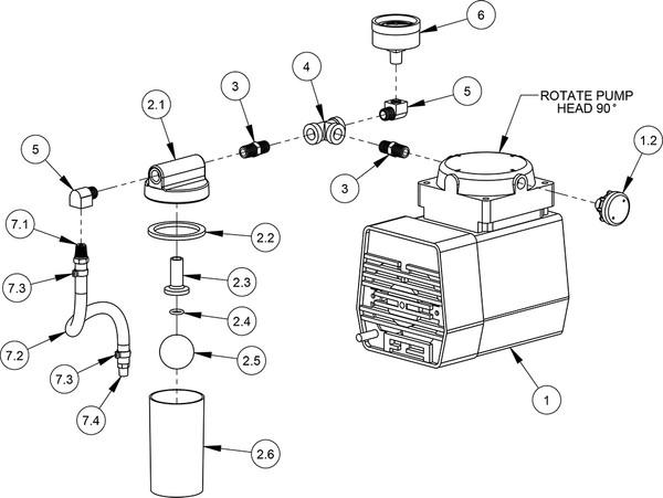 vacuum pump  110 volt