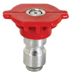 Red Pressure Washer Tip | 0° Degree - Size .80 | 900080Q