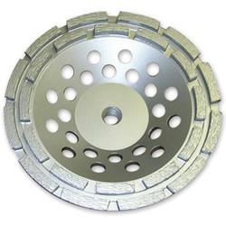 "7"" X 5/8-11 Double Row Cup Wheel | 0907DRSTCWGE5811"
