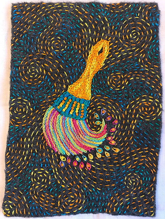 Paint Brush Stitch Along Ct Publishing