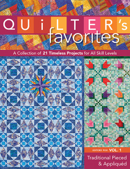 Quilter's Favorites  Traditional Pieced & Appliqued eBook