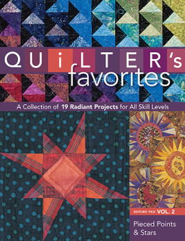 Quilter's Favorites  Pieced Points & Stars eBook